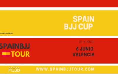 ¡La 'SPAIN BJJ CUP' ya tiene fecha!